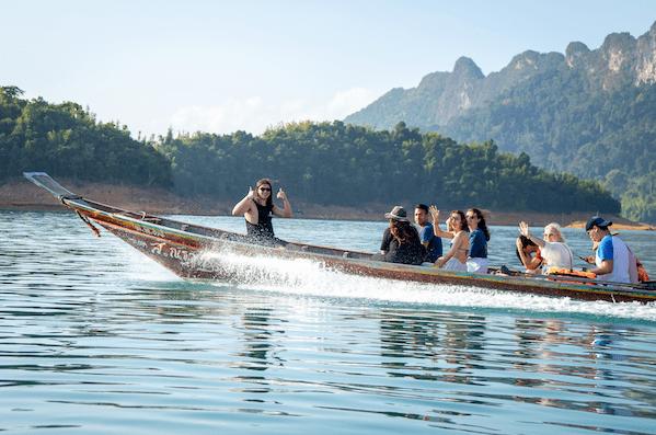 Khao Sok Boat Trip