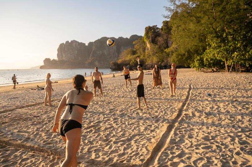 Railay Beach Volleyball