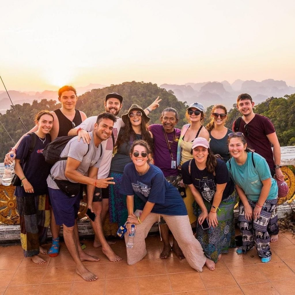 why group travel photo