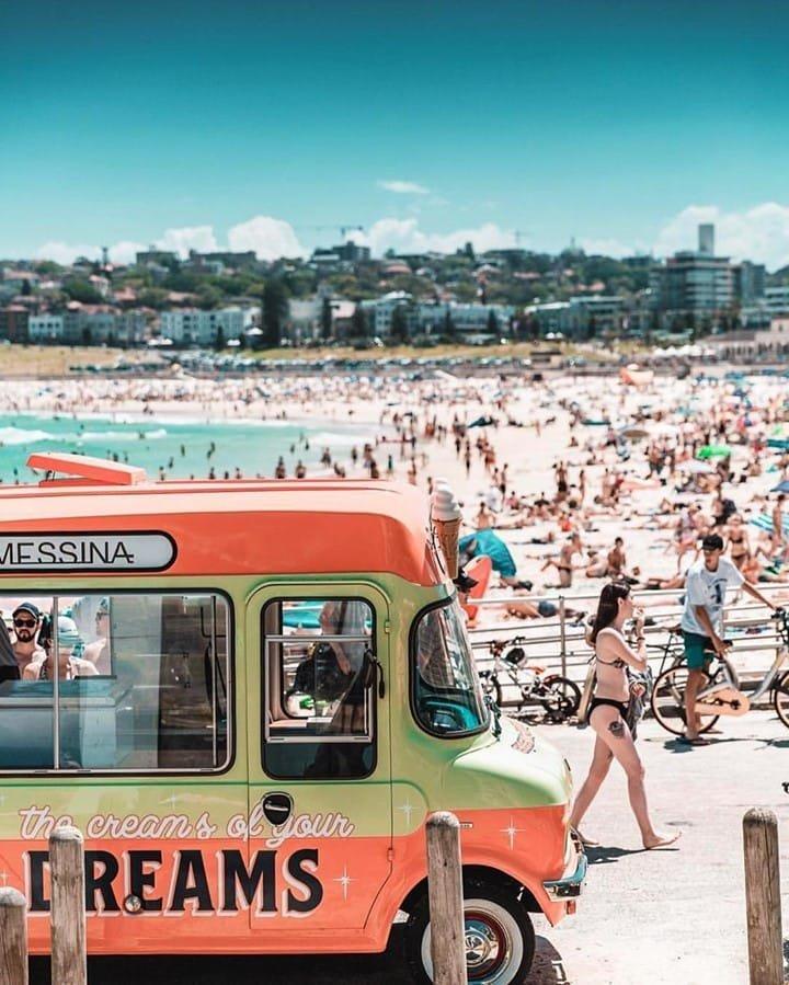 Bondi Beach East Coast of Australia