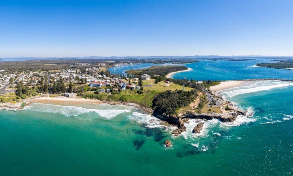 Yamba East Coast of Australia