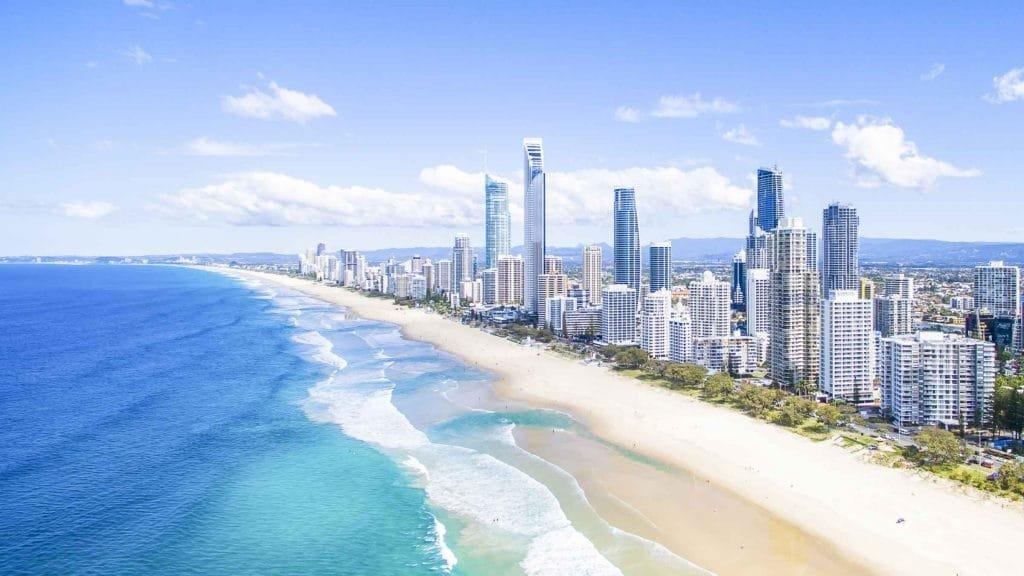 Surfers Paradise East Coast of Australia