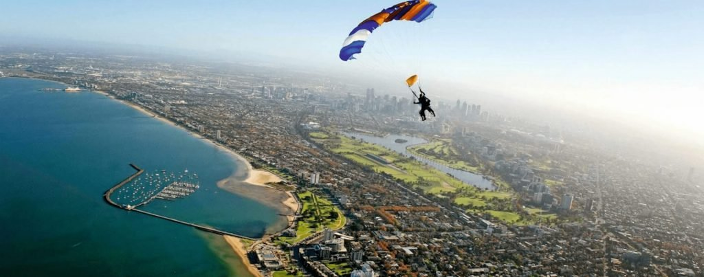 Skydive the City Melbourne